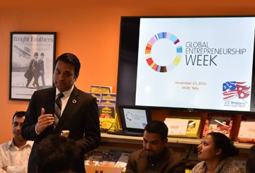 Global Entrepreneurship Week #GEW2016 celebration