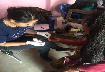 Health Camp at Barpak