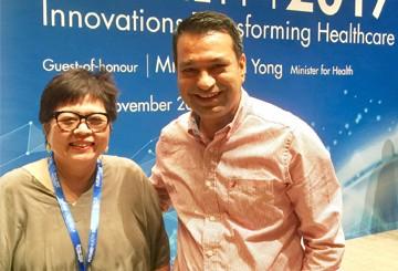 Ms Peh Kim Choo, CEO of Tsao Foundation