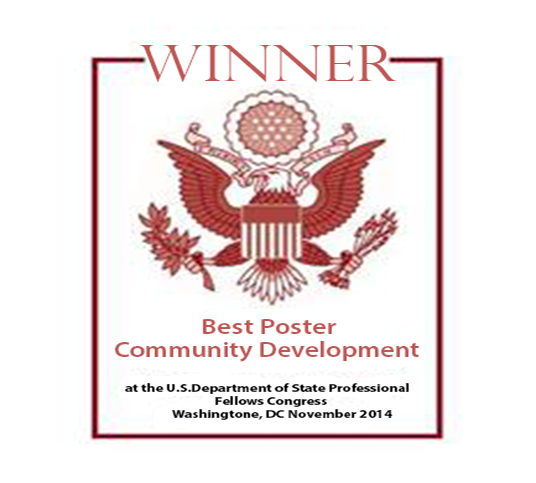 Best Poster Community Development Award 2014