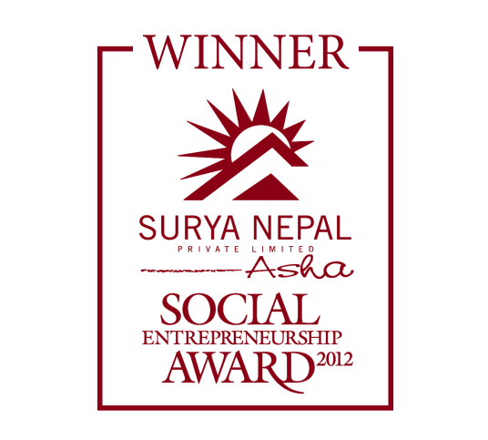 Social Entrepreneurship Award 2012